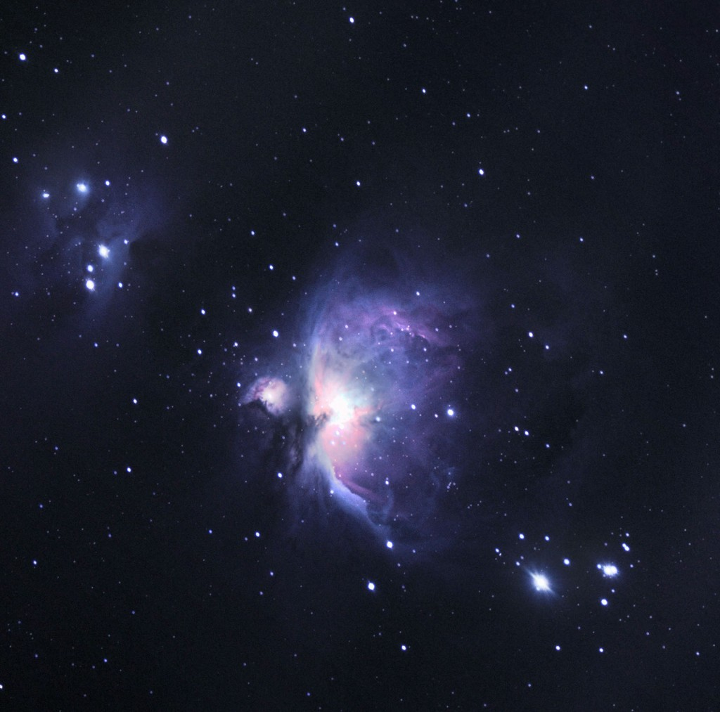 Wielka Mgławica w Orionie M42, NGC 1977