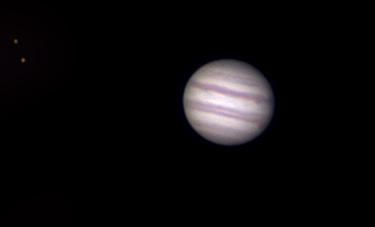 Planeta Jowisz oraz księżyce Europa, Io