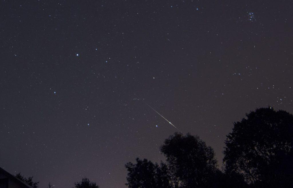 Perseidy oraz Plejady M45