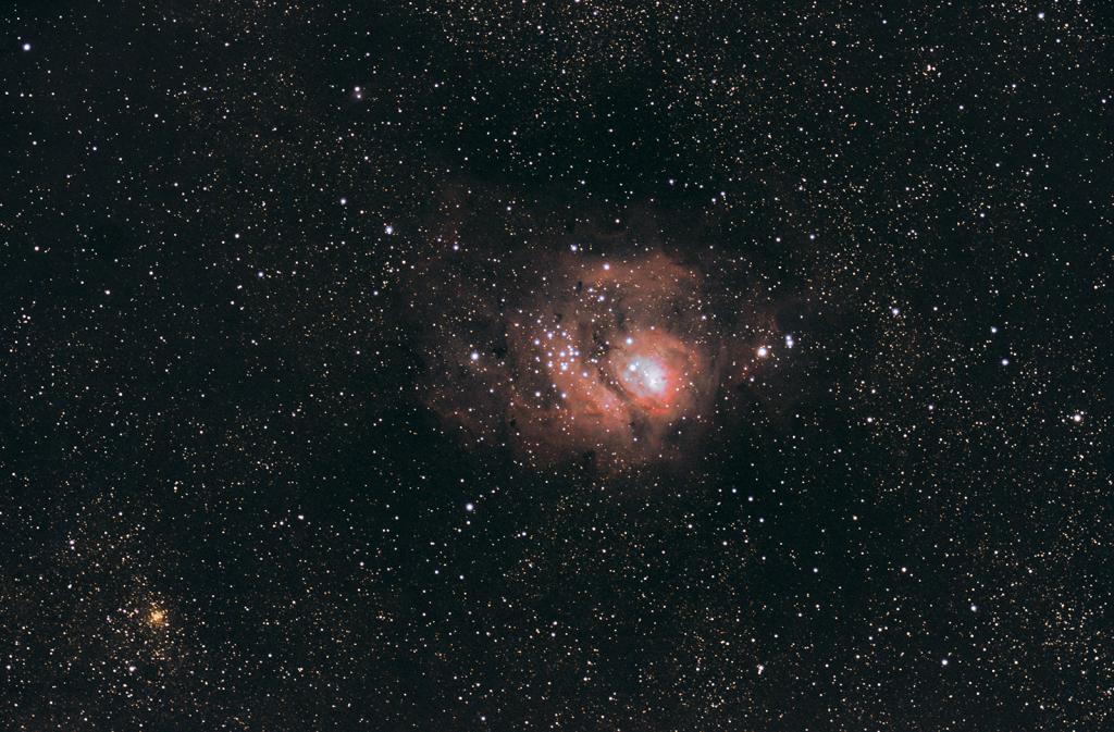 Mgławica Laguna, Messier 8, M8
