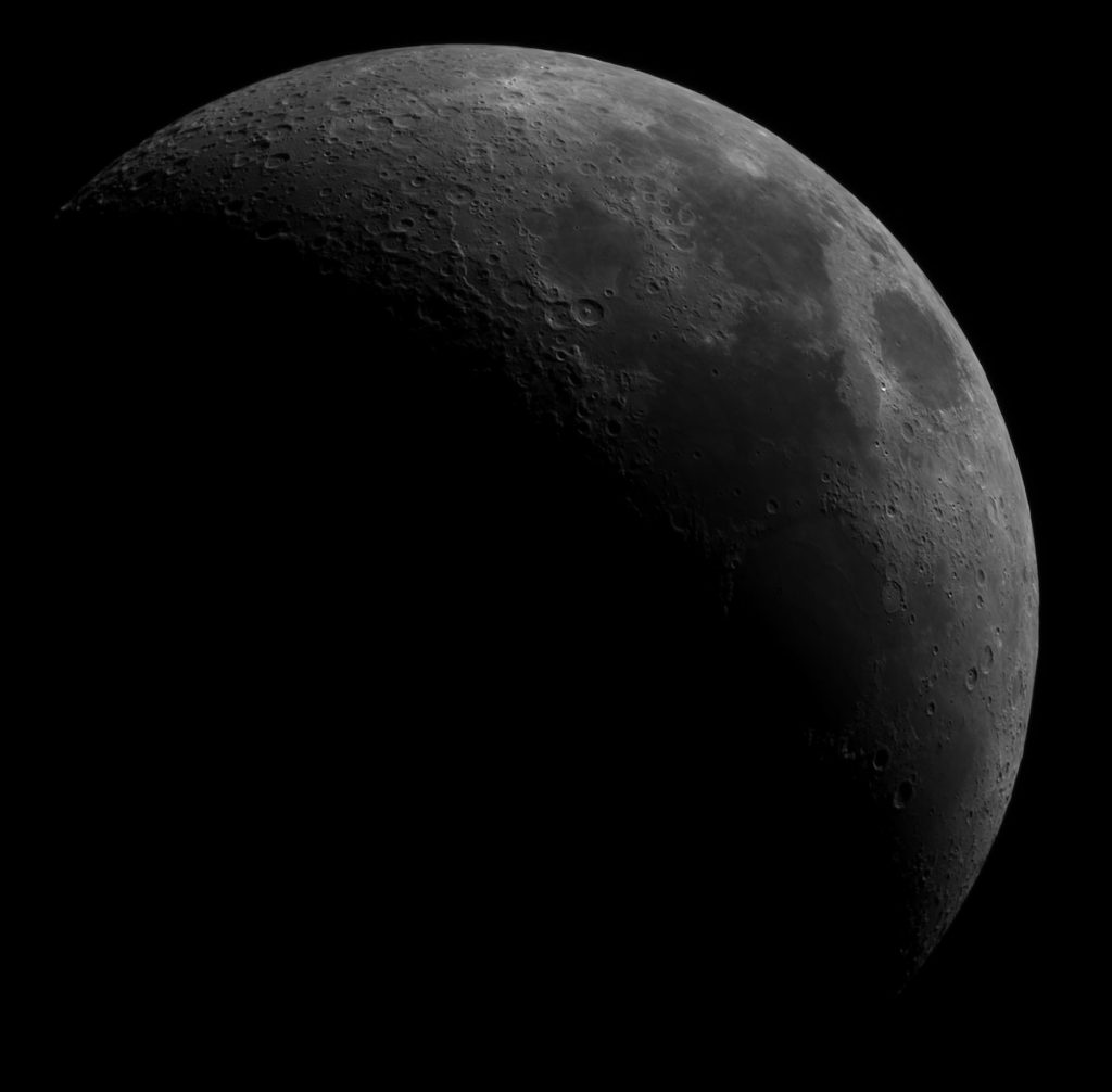 Księżyc – pierwsza kwadra