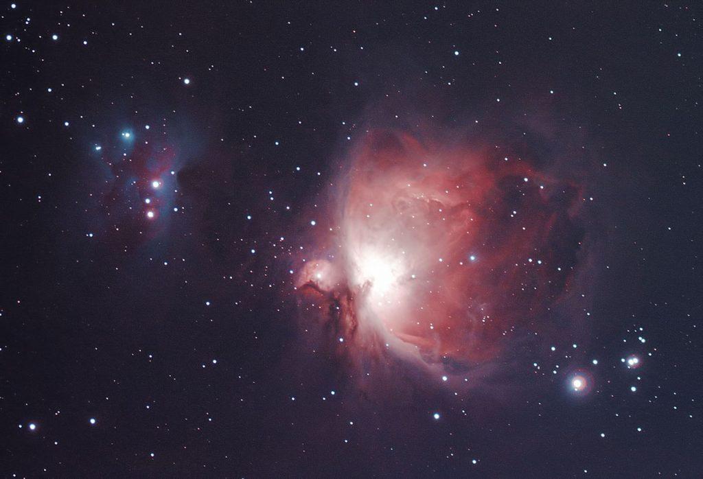 Wielka Mgławica w Orionie M42 test Astronomik CLS-CCD