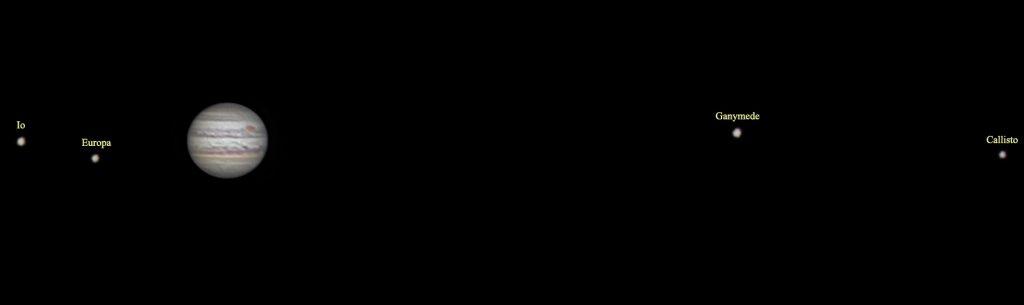 Jowisz i jego księżyce
