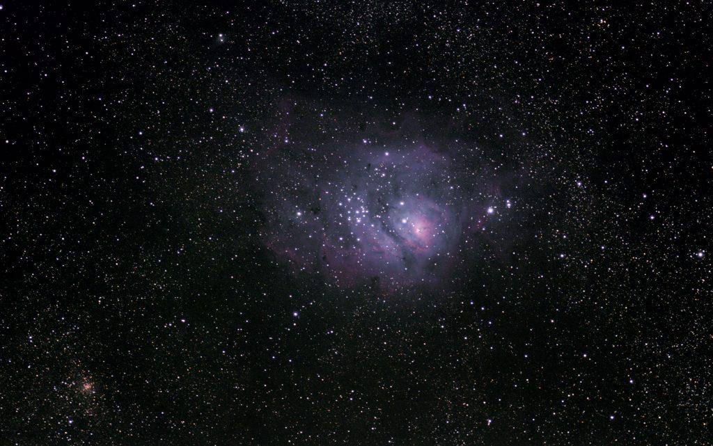Mgławica Laguna Messier 8, M8, NGC 6533