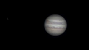 Jowisz oraz księżyc Io