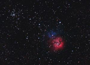 Mgławica Trójlistna Koniczyna (M20, NGC 6514)