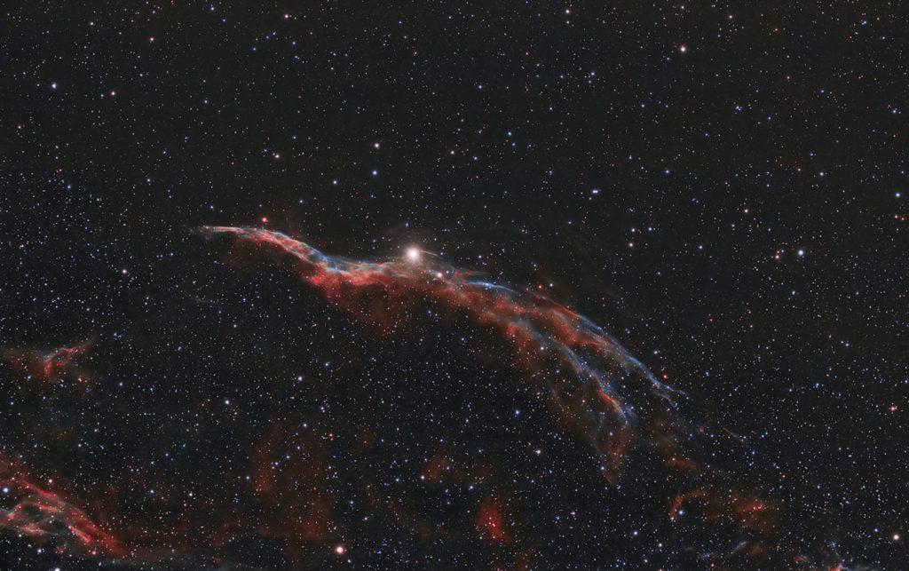 Mgławica Miotła Wiedźmy NGC 6960