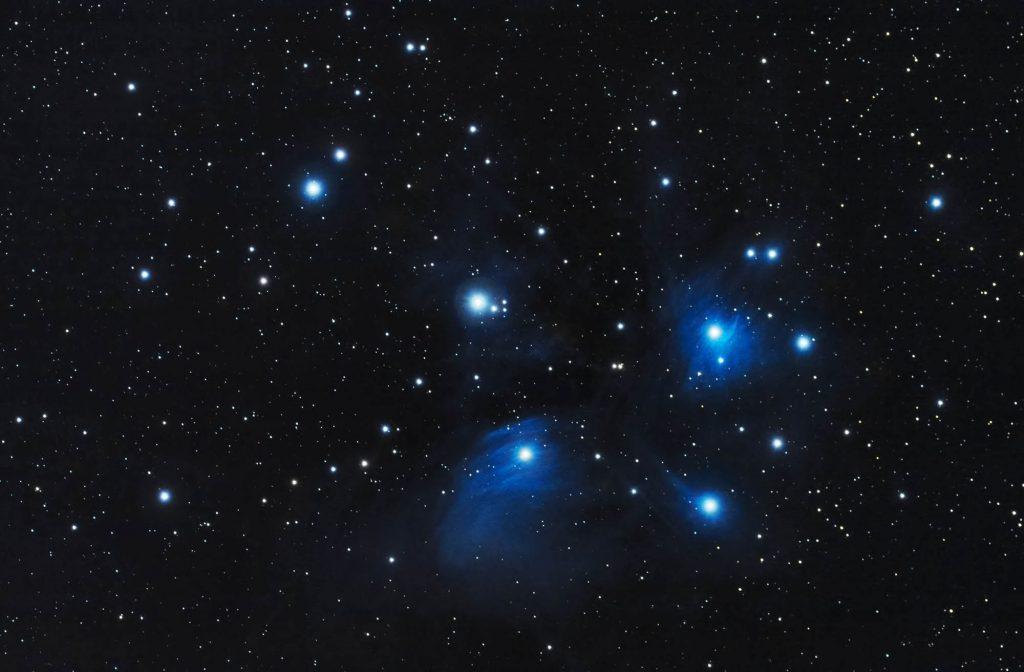 Plejady (Messier 45, M45)