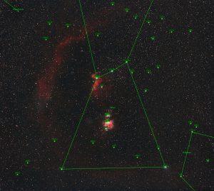 Gwiazdozbiór Oriona