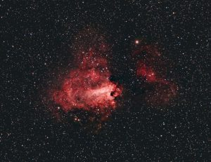Mgławica Omega (Messier 17, NGC 6618)