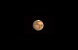 Mars podczas wielkiej opozycji