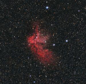 NGC 7380 Mgławica Czarodzieja
