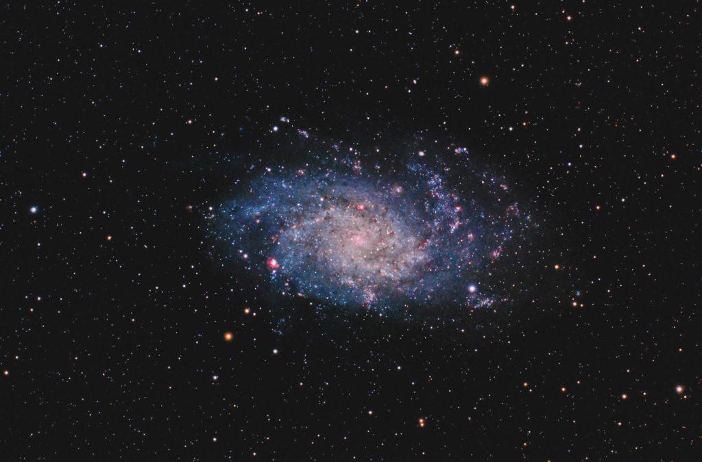 Galaktyka Trójkąta (Messier 33, M33, NGC 598)
