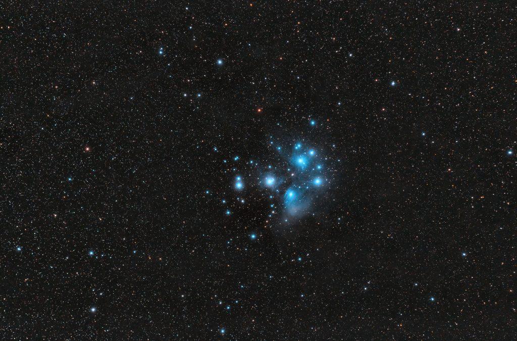 Siedem sióstr czyli Plejady M45