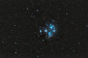 Siedem sióstr Plejady M45