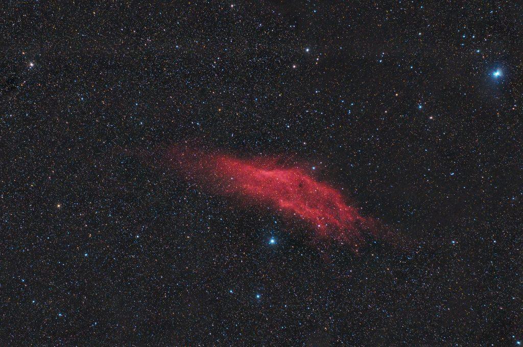 Mgławica Kalifornia NGC 1499