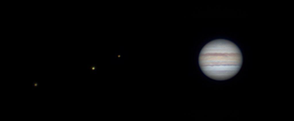 Jowisz z księżycami