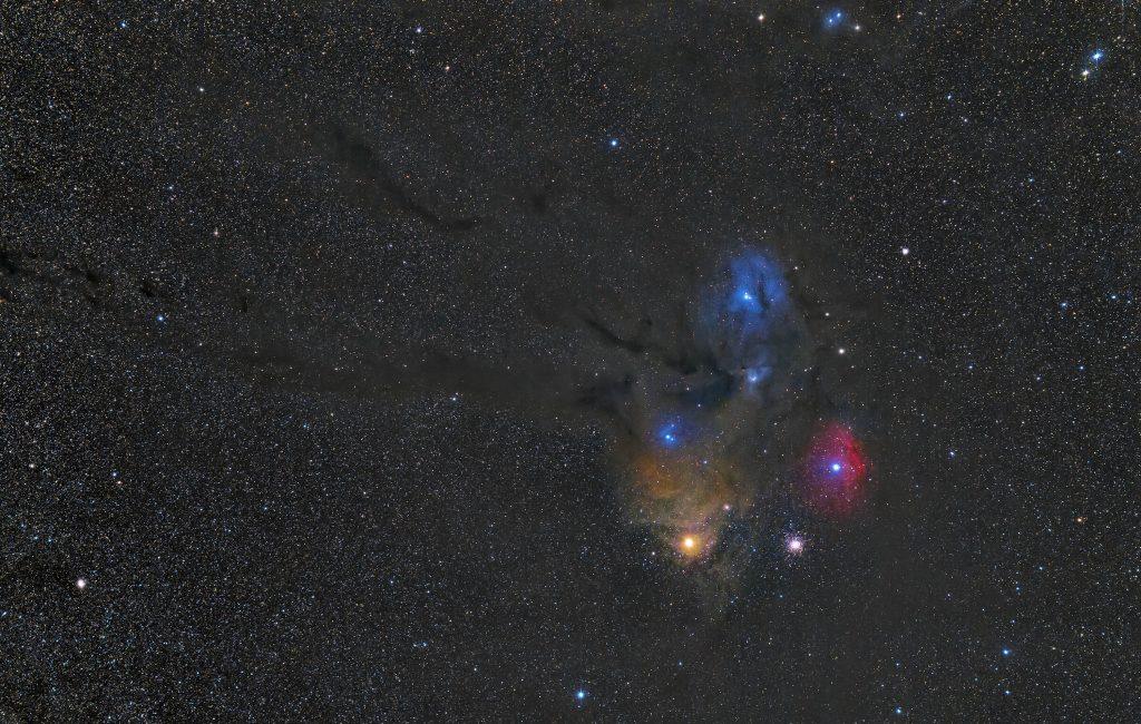 Mgławica Ro Ophiuchi