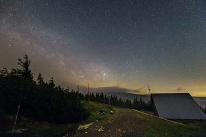 Droga Mleczna nad Ramzova