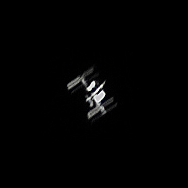 Przelot Międzynarodowej Stacji Kosmicznej nad Polską, godzina 22.57