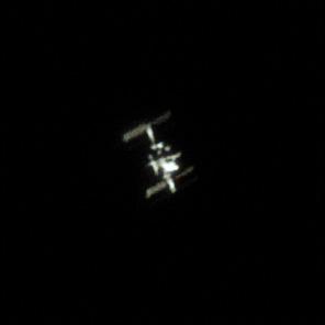 Przelot Międzynarodowej Stacji Kosmicznej nad Polską