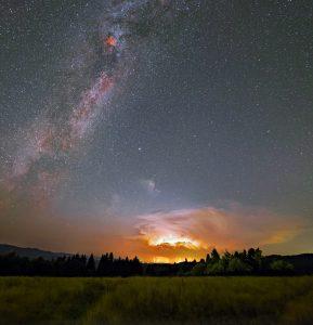 Burza pod Drogą Mleczną