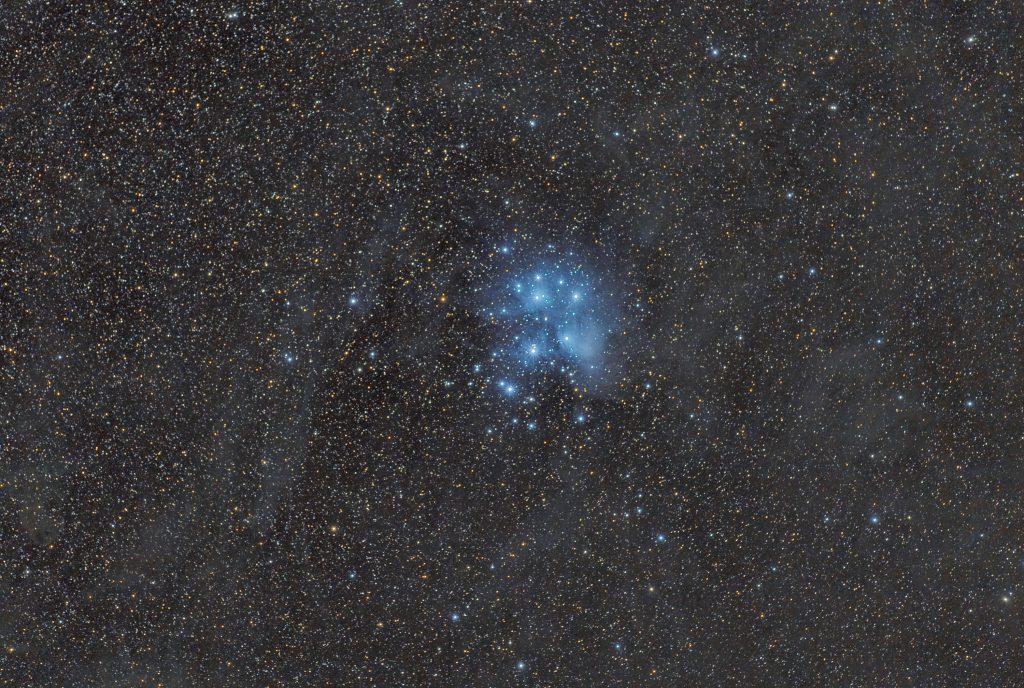 Plejady Messier 45