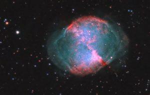 Mgławica Hantle M27, NGC 6853