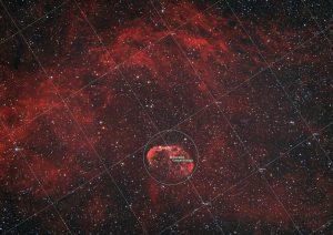 NGC 6888 Mgławica Półksiężyc – Crescend