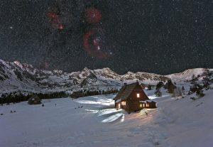 Orion nad Tatrami wraz z Betlejemką